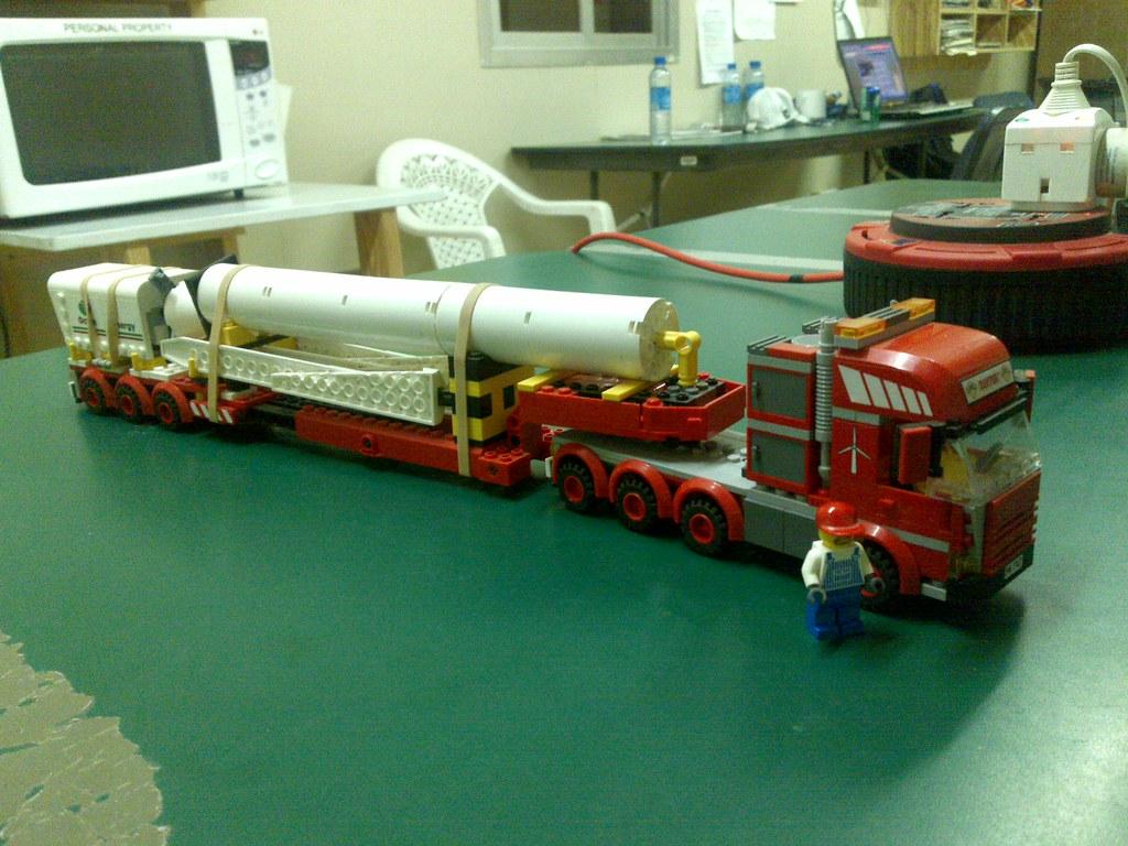 LEGO 7747 Wind Turbine Transport | LEGO 7747 Wind Turbine tr ...