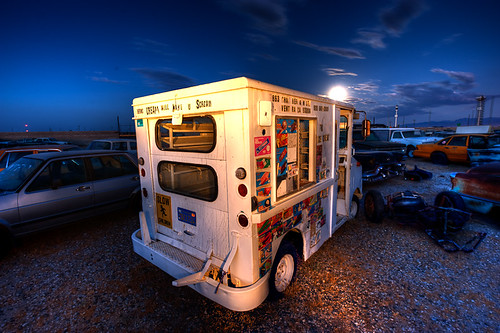 Moonrise Ice cream | by David A Evans