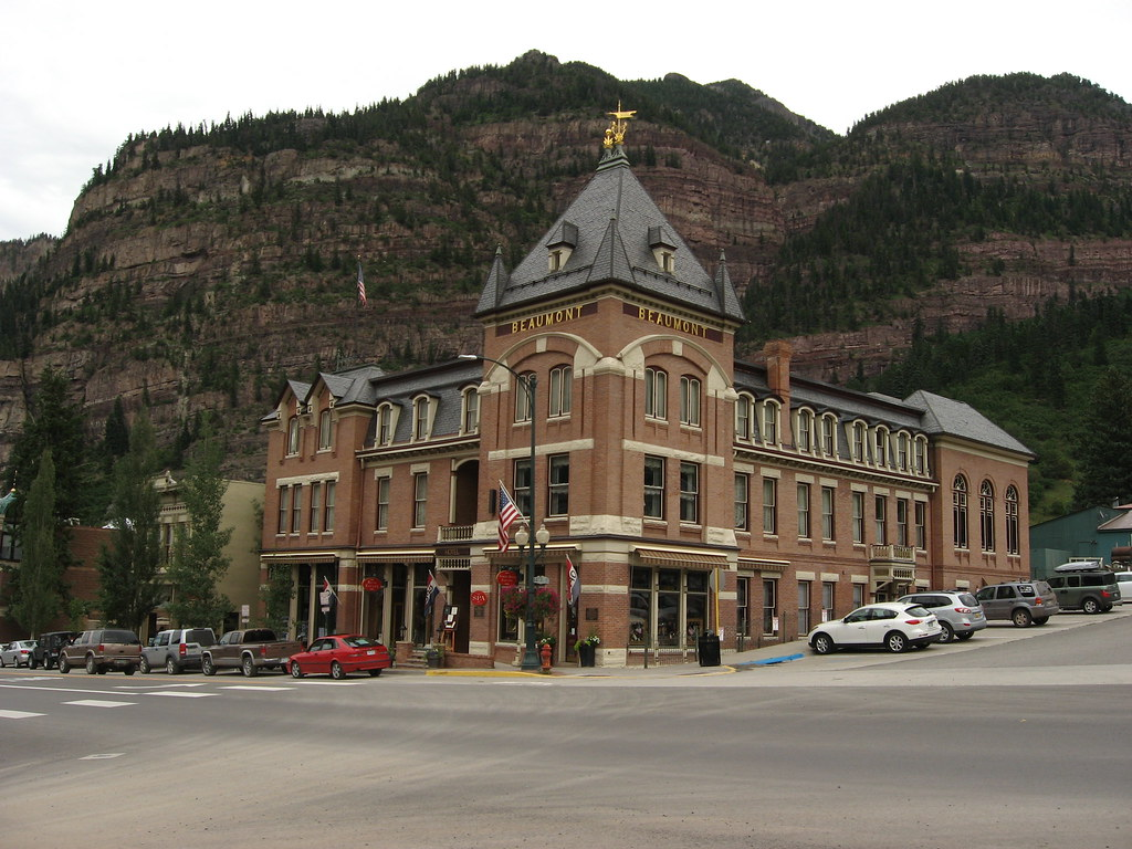 Beaumont Hotel Ouray Colorado The Beaumont Hotel In