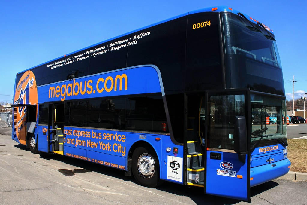 megabus bus photos albany ny to penn station nyc flickr. Black Bedroom Furniture Sets. Home Design Ideas