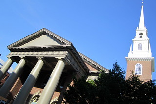 Cambridge - Harvard Square: Memorial Church of Harvard University | by wallyg