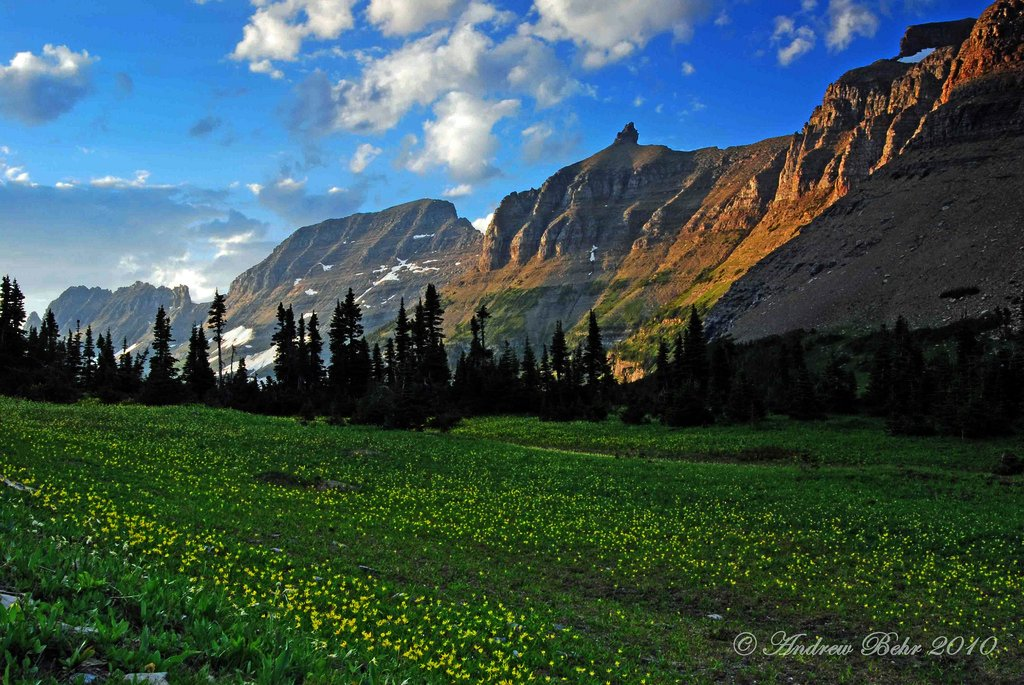 The Garden Wall Glacier National Park The Garden Wall Jus Flickr
