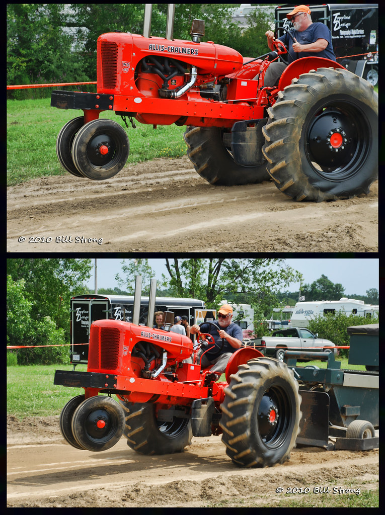 Allis Chalmers Wd45 : Allis chalmers wd taken at the grand river antique