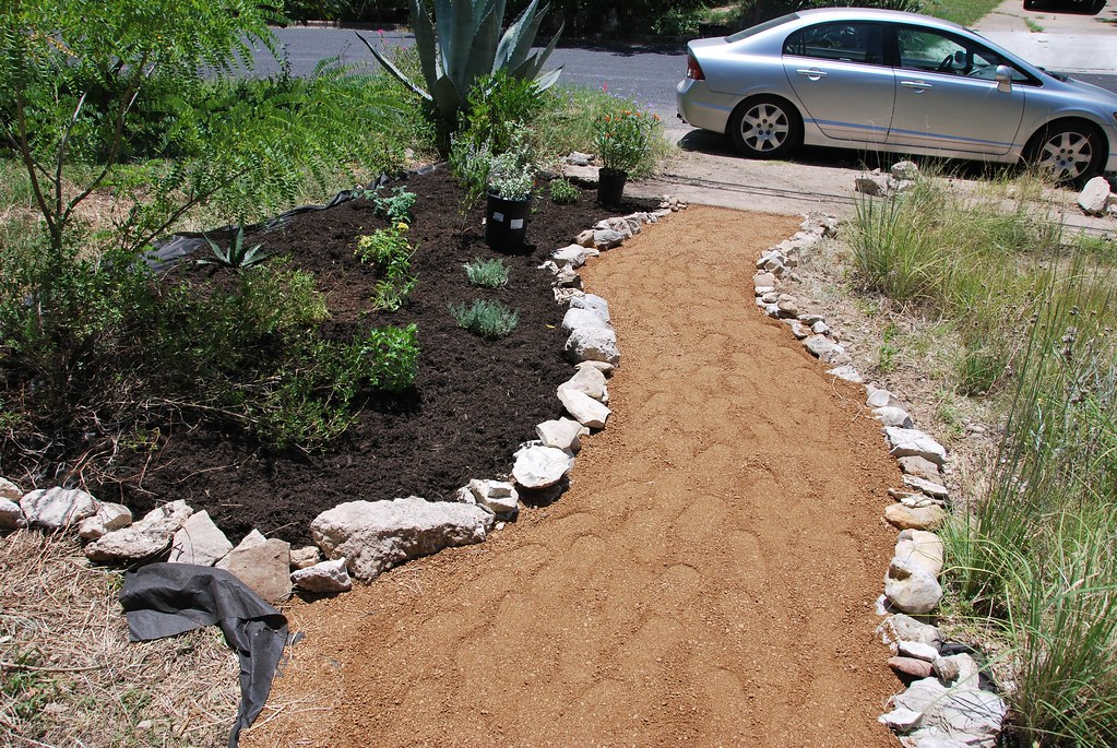 Finally Done With The Decomposed Granite Pathway Needs