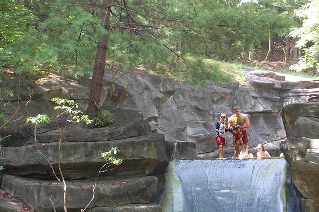 The Rock Slide At Big Canoe Ga Flickr Photo Sharing