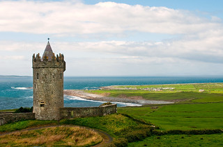 Fairytale Irish Castle....came acorss this Castle/Tower above Doolin Point in County Clare....I expected to see a Damsel in distress and knight on a white horse coming to the rescue! | by MarsW