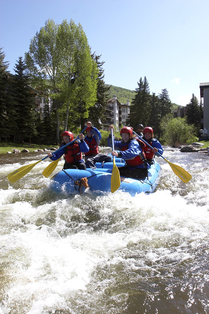 Rafting in Vail | When the snow melts, the water rises. Raft ...