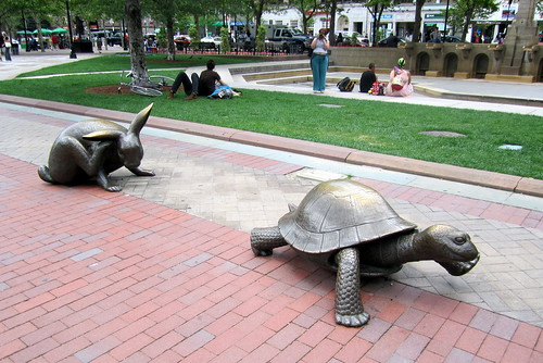 Boston - Copley Square: The Tortoise and the Hare | by wallyg
