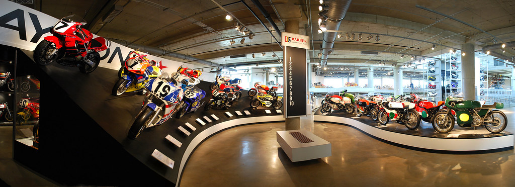 Barber Motorsports Museum A very small percentage of the m ...
