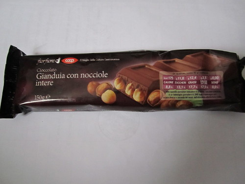 Vegan chocolate hazelnut bar by Coop | by veganbackpacker