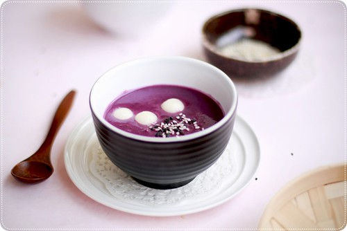 Purple Sweet Potato Dessert | by *bossacafez