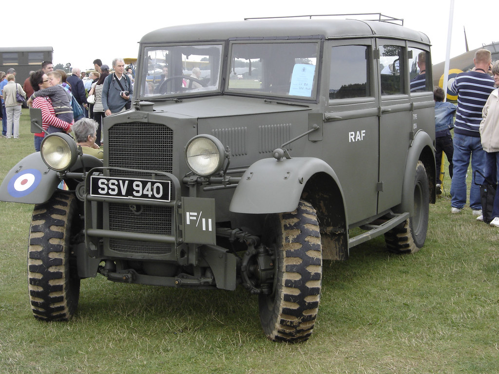 R A F Humber Heavy Utility Staff Car Headcorn Combined O