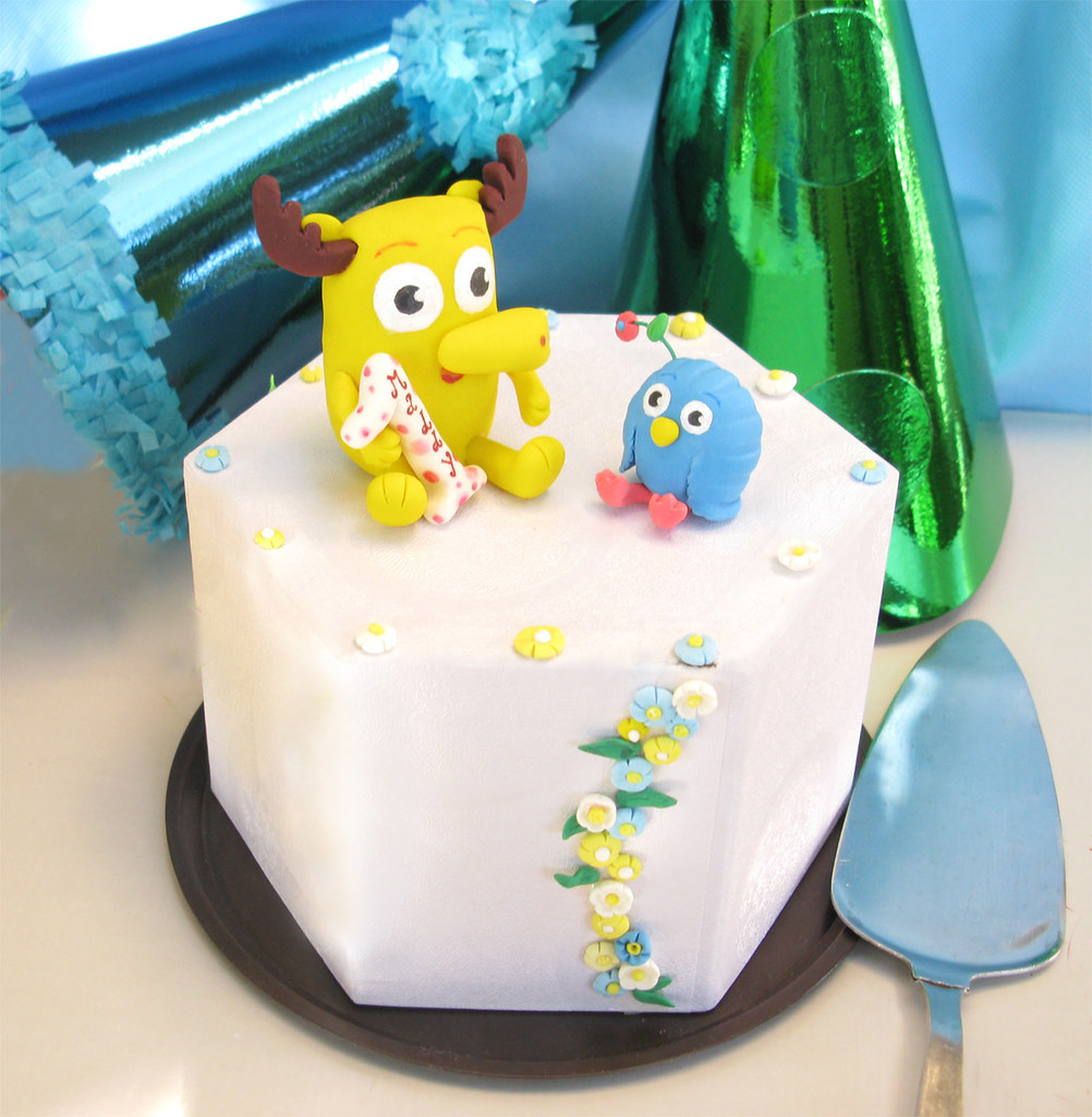 Personalized Moose And Zee Birthday Cake Toppers For Child Flickr