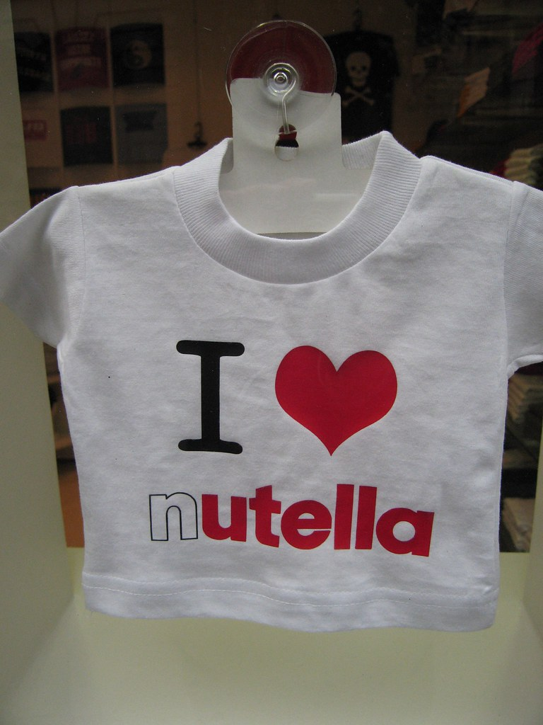 i Love Nutella Shirt images