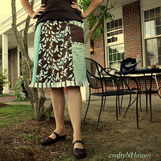 skirt from Sew Serendipity by Kim | by craftyNHmom
