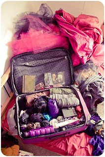 a burning man suitcase: 99% packed! | by Foxtongue