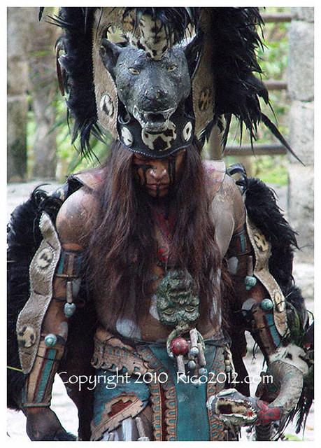 Original Mayan Art -The War God   Flickr - Photo Sharing!
