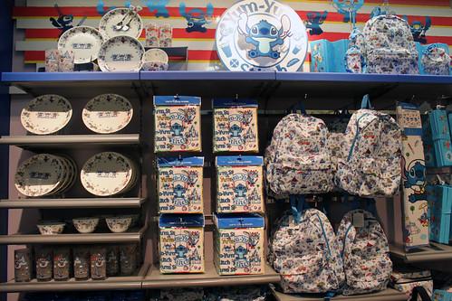 Cool Stitch Merchandise In Planet M Tokyo Disneyland
