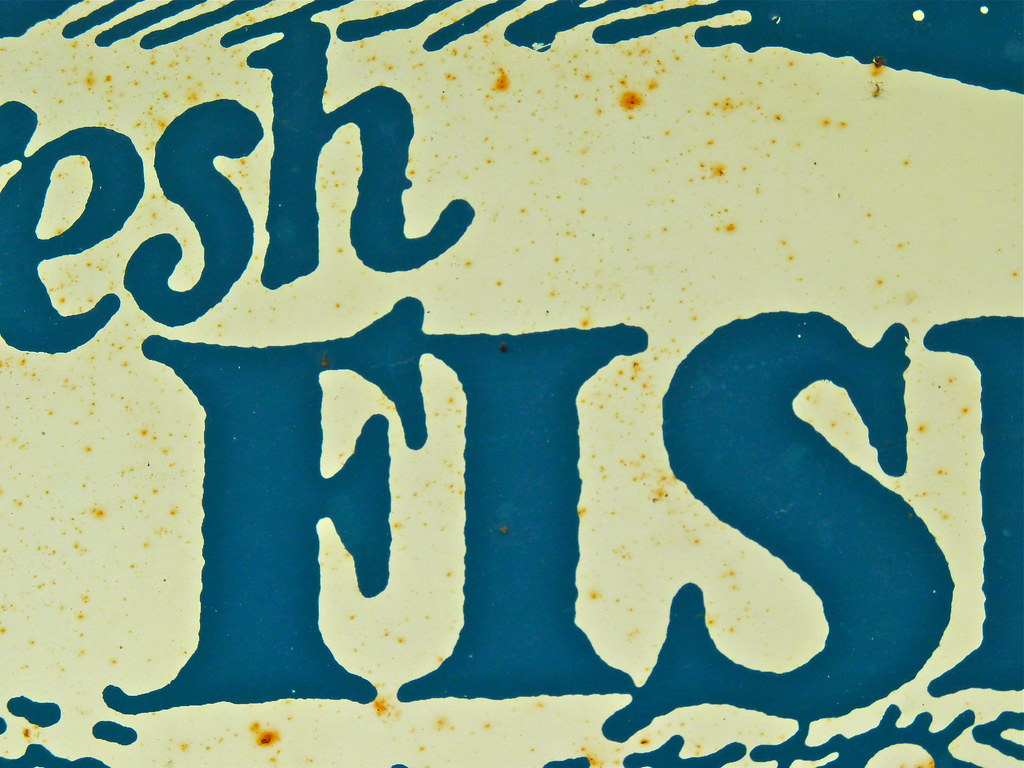 Detail fresh fish sign leland mi another of the for Www plenty of fish sign in