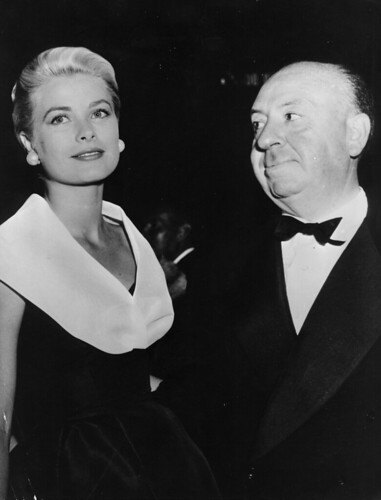 Grace Kelly & Alfred Hitchcock | by Advertising Hitchcock