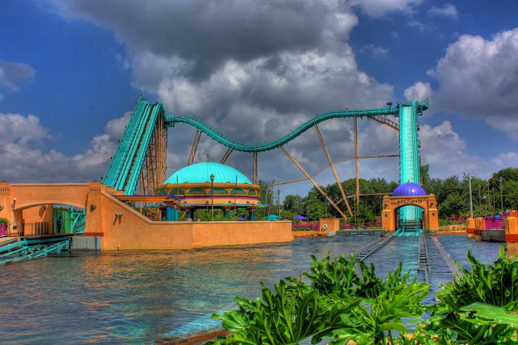 Journey To Atlantis Seaworld San Antonio Kumar754