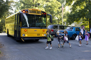 second graders on the first day of school | by woodleywonderworks