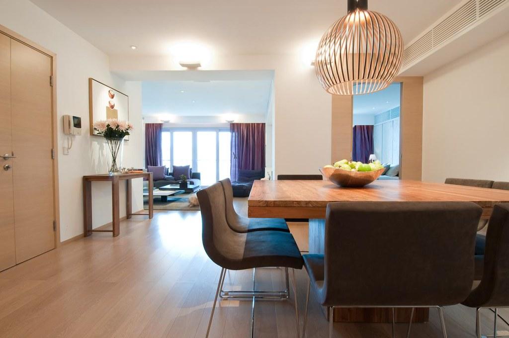 Evergreen villa interior design by lui design for Villa esplanada interior design