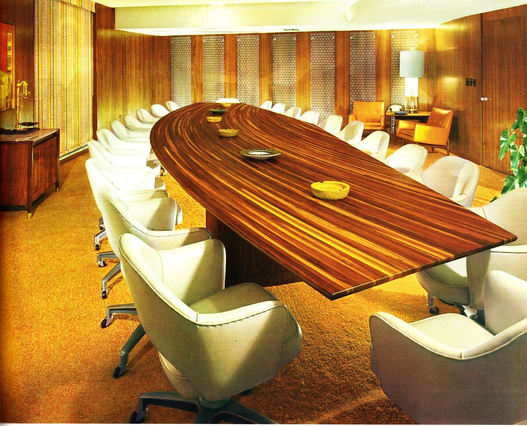 Midcentury Modern Conference Room Conference Room In That Flickr - Mid century modern conference table