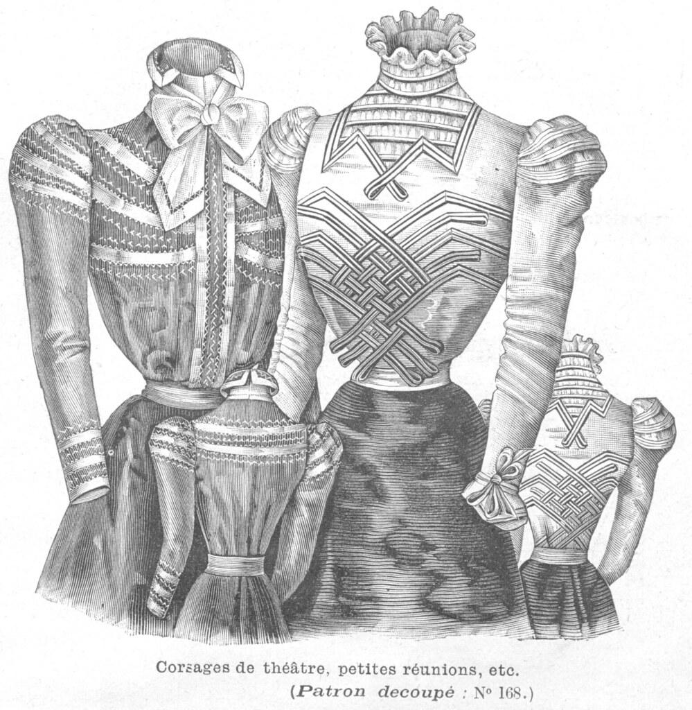 Corsages, 1898