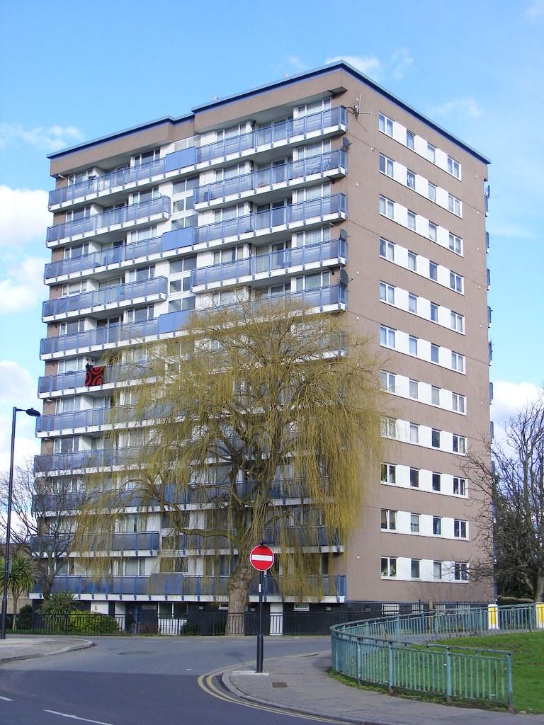 ... Tower Block, Dover House, Lower Edmonton N9 | By Sludgegulper