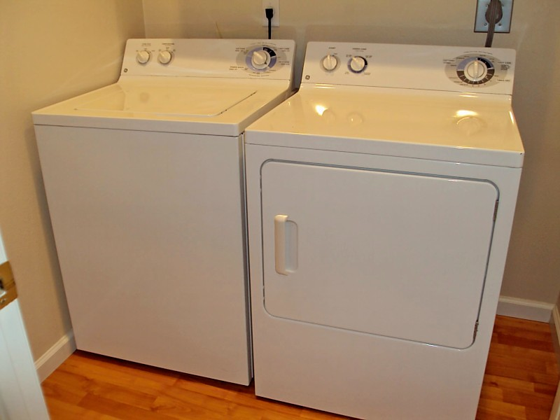 Ge washer dryer set hidden valley lake appliances flickr - Washer dryer for small spaces gallery ...