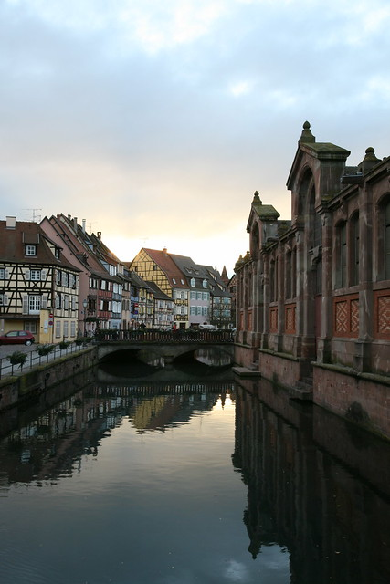 alsace haut rhin colmar architecture quai de la poissonnerie flickr photo sharing. Black Bedroom Furniture Sets. Home Design Ideas