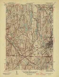 Webster Quadrangle 1945 - USGS Topographic Map 1:31,680 | by uconnlibrariesmagic