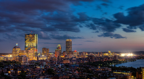 Boston under lights. | by ian.poley