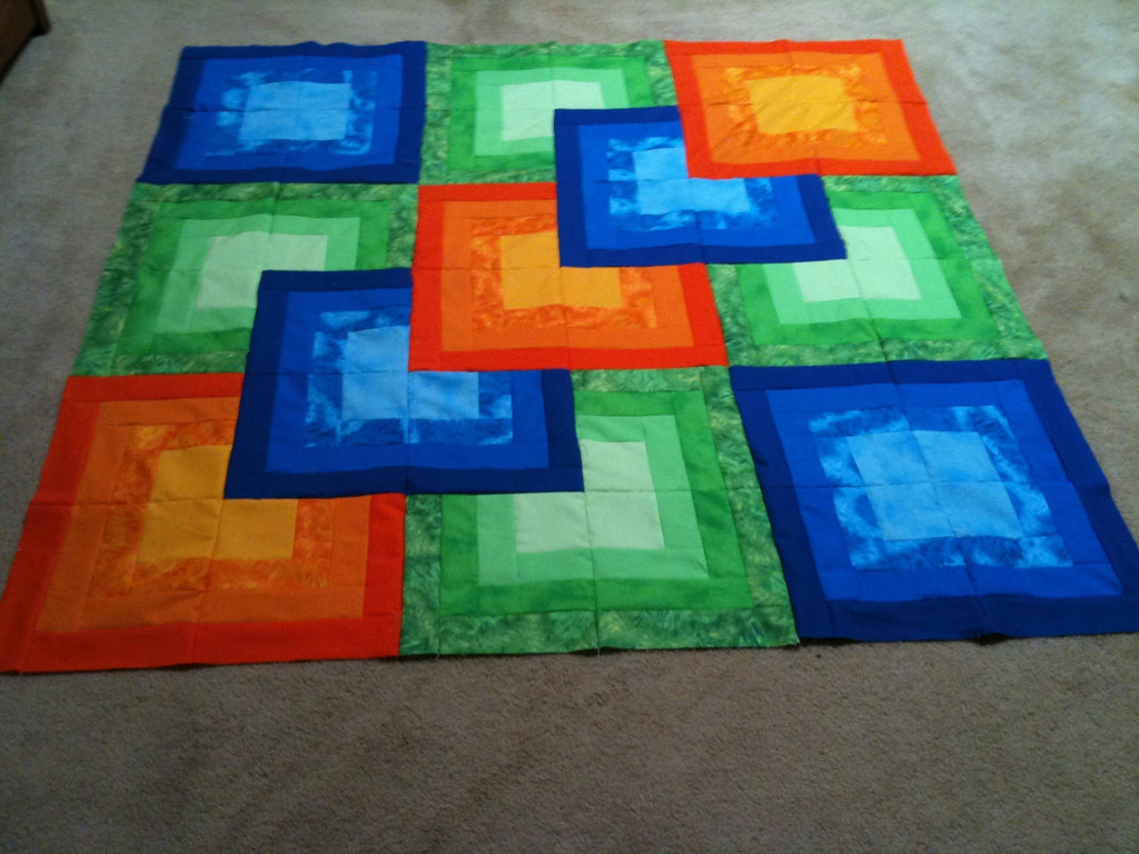 3d quilt top... | Not sure how to quilt this one ...