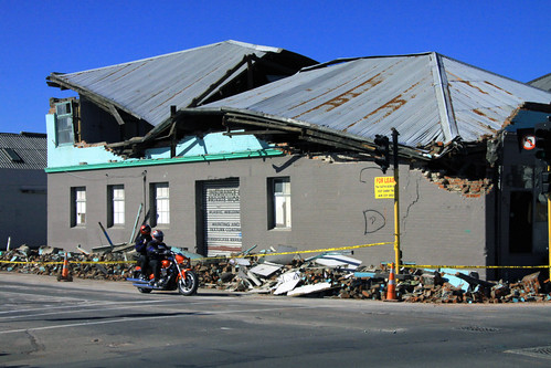 Christchurch Earthquake - Hard-Hat Zone | by Geoff Trotter