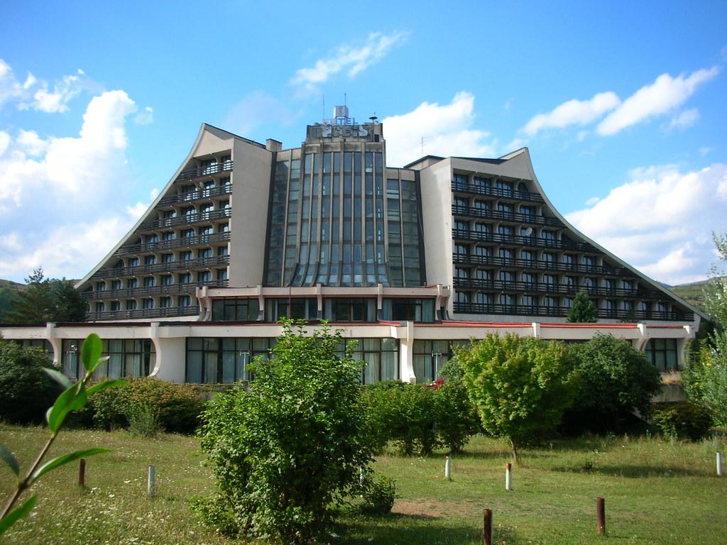 Hotel Narcis - Brezovica, Kosovo | Abandoned communist era ...