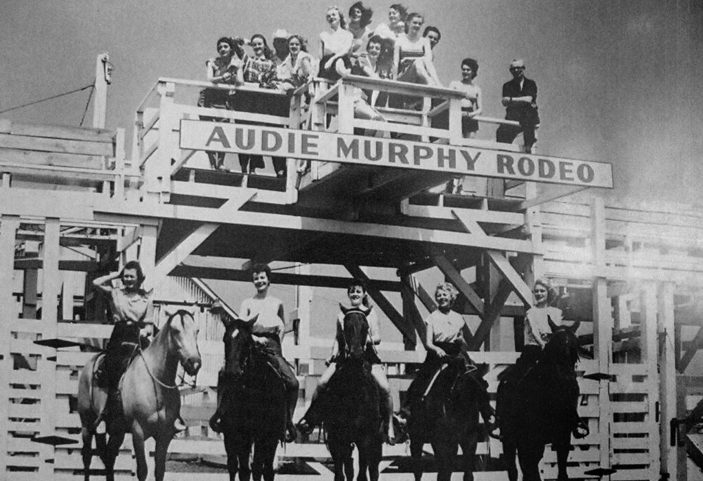 Audie Murphy Rodeo Ray Woods Bought The Land East Of Eules Flickr