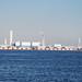 Yokohama Port View from Pacifico Yokohama Seaside Park
