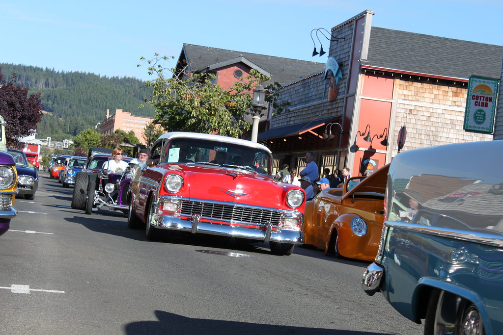 Seaside Oregon Car Show