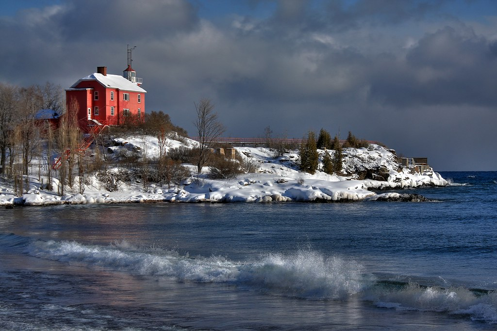 Marquette Michigan Lighthouse Www Johndecember Com