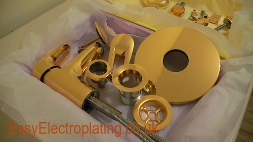 Gold Plated Shower Fittings | by EasyElectroplating