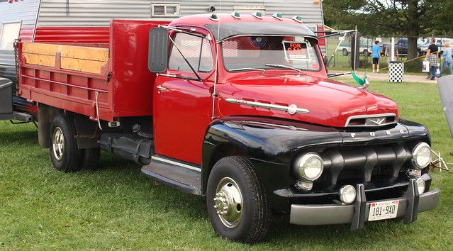 1952 ford f 6 dump truck flickr photo sharing. Black Bedroom Furniture Sets. Home Design Ideas