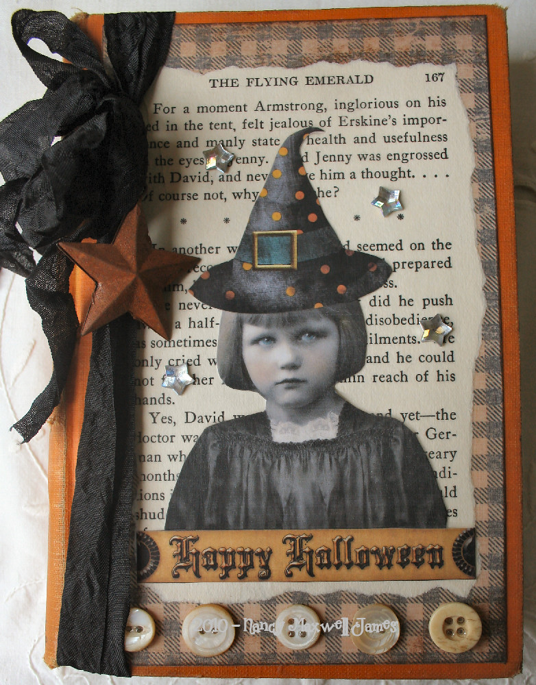 Book Cover Photography Jobs : Happy halloween altered book cover sugar lump studios