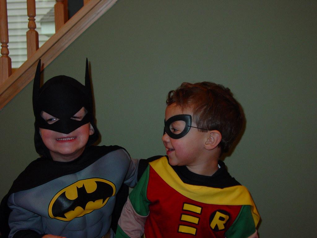 batman and robin halloween costumes | mollysnyder | flickr