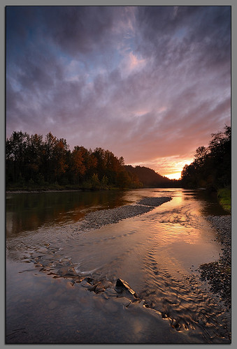 Sunset on the River... | by Andrew Kumler