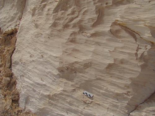 Acanaladuras y surcos eólicos - White Desert (Egipto) - 01