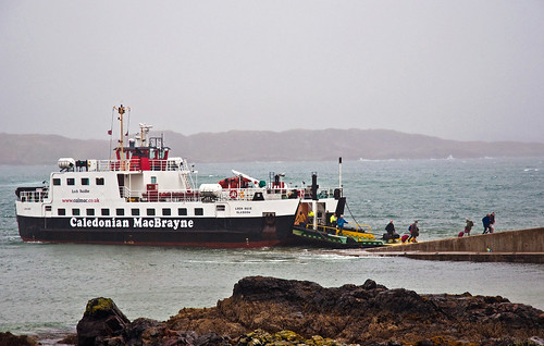 Ferry at Iona, Scotland, Sept. 2010 | by PhillipC
