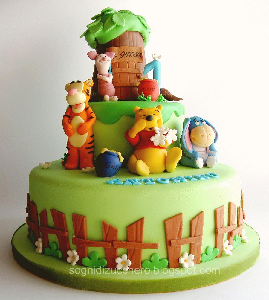 Pooh Birthday Cake Design : winnie the pooh cake Maria Letizia Bruno Flickr