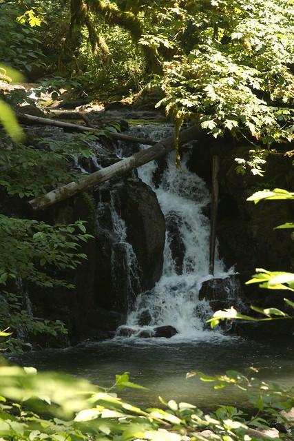 Crystal pool falls mcdowell creek flickr photo sharing - Crystal pools waterfall ...